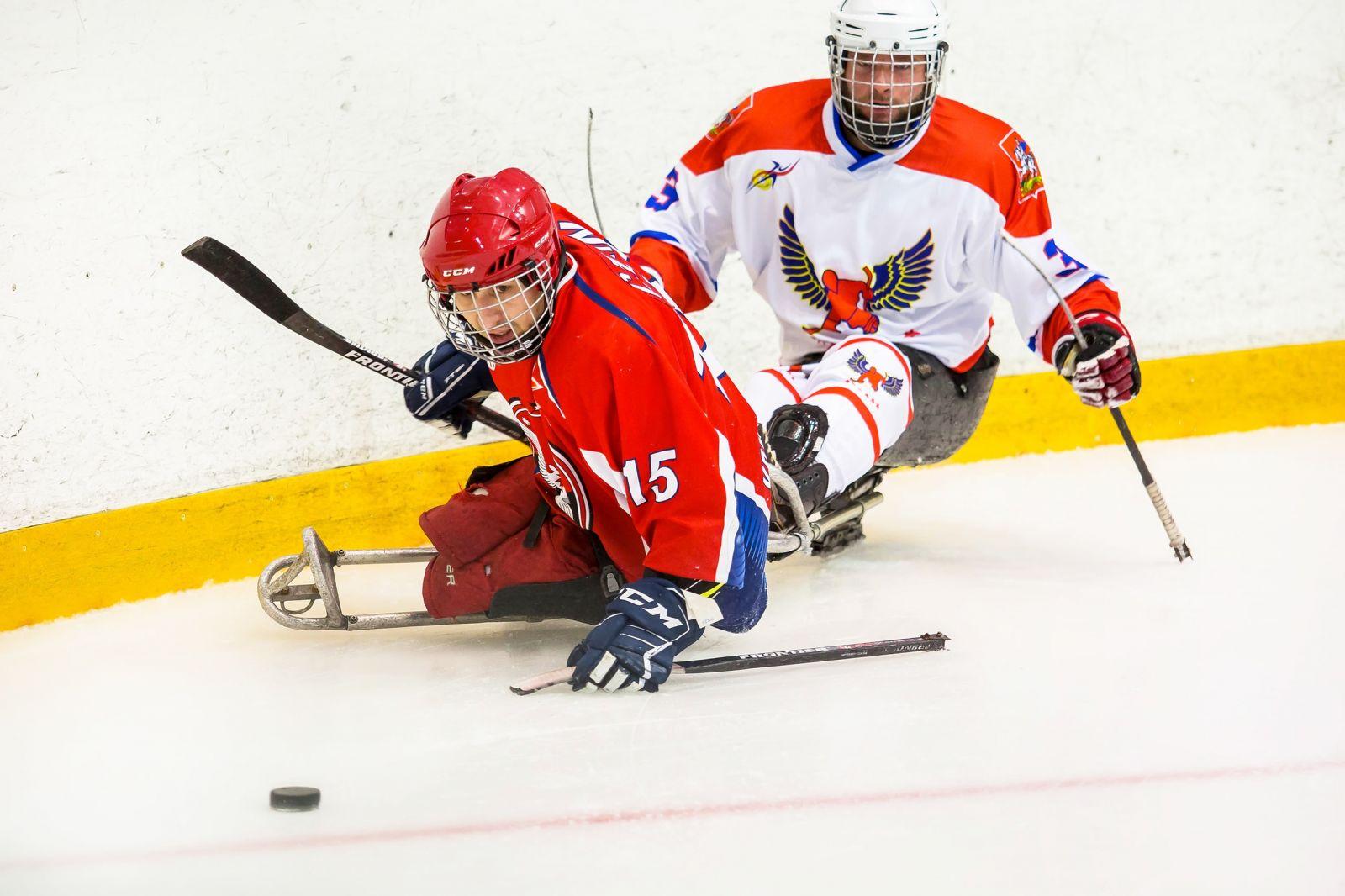 Итоги третьего дня первого круга чемпионата России по следж-хоккею в Ижевске
