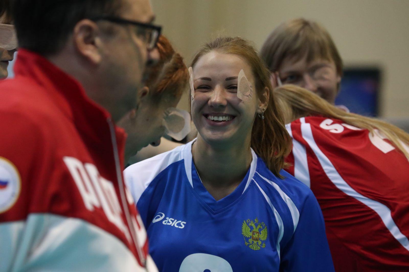#тренимвместе с чемпионкой мира по голболу спорта слепых Анной Шевченко
