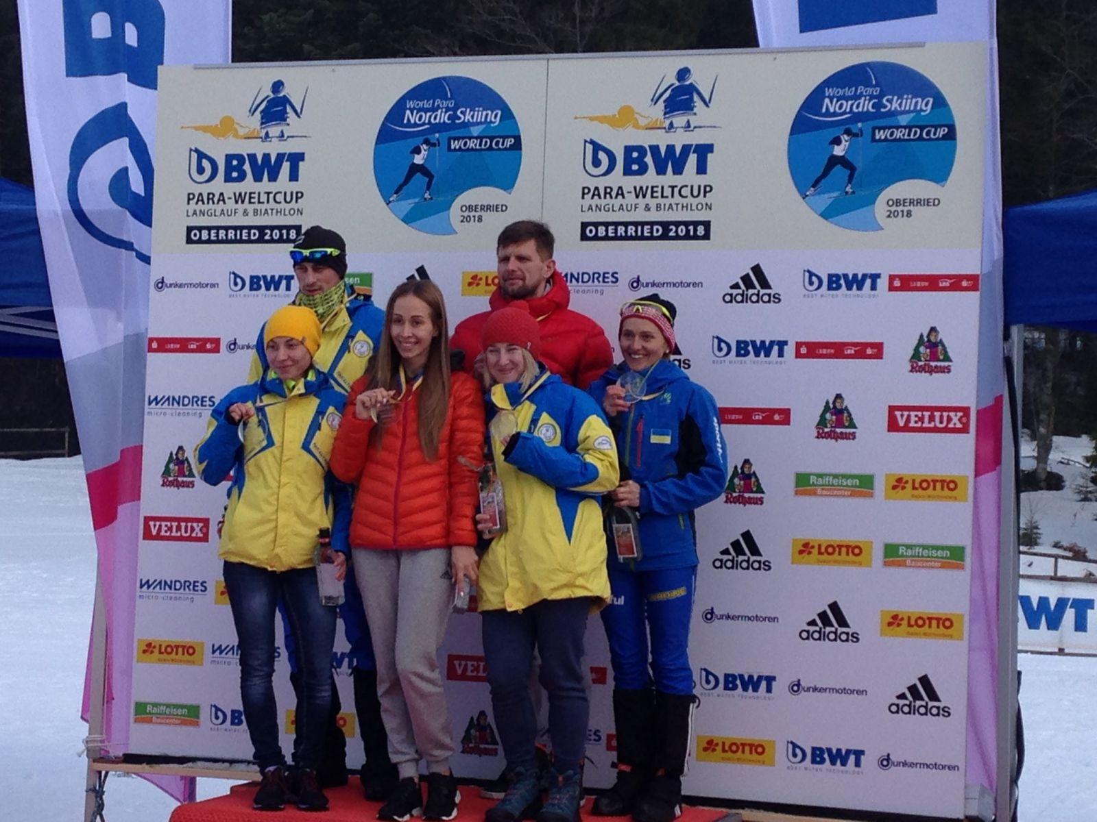 Российские лыжники завоевали 5 золотых, 4 серебряные и 3 бронзовые медали в пятый день этапа Кубка мира по лыжным гонкам и биатлону спорта лиц с ПОДА и нарушением зрения