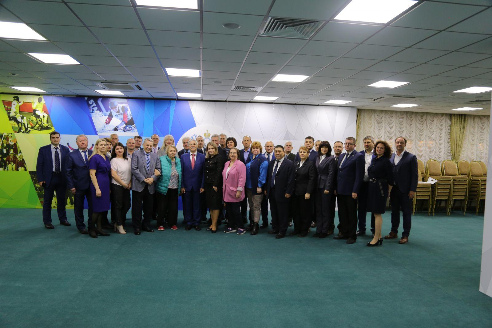 Руководители ПКР в г. Москве приняли участие в VII Съезде Общероссийского профессионального союза работников физической культуры, спорта и туризма РФ