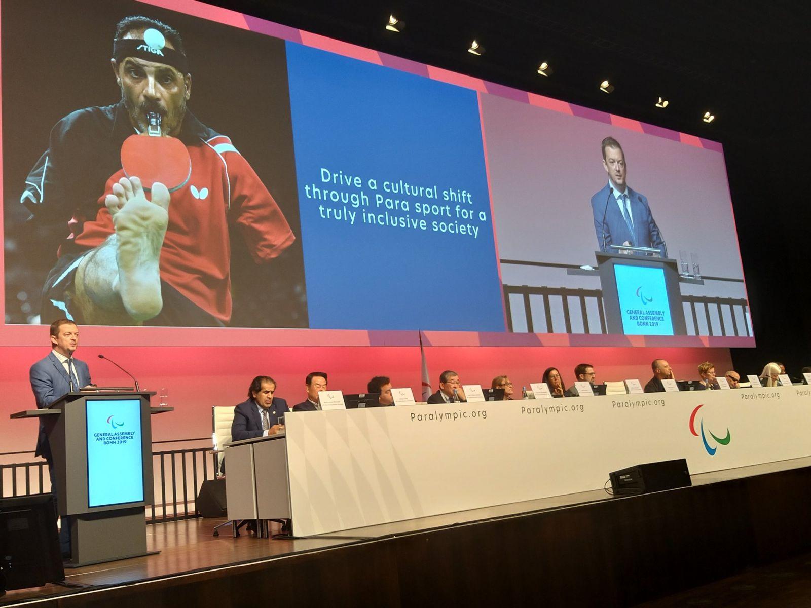 В.П. Лукин, П.А. Рожков в г. Бонне (Германия) приняли участие в Генеральной Ассамблее МПК