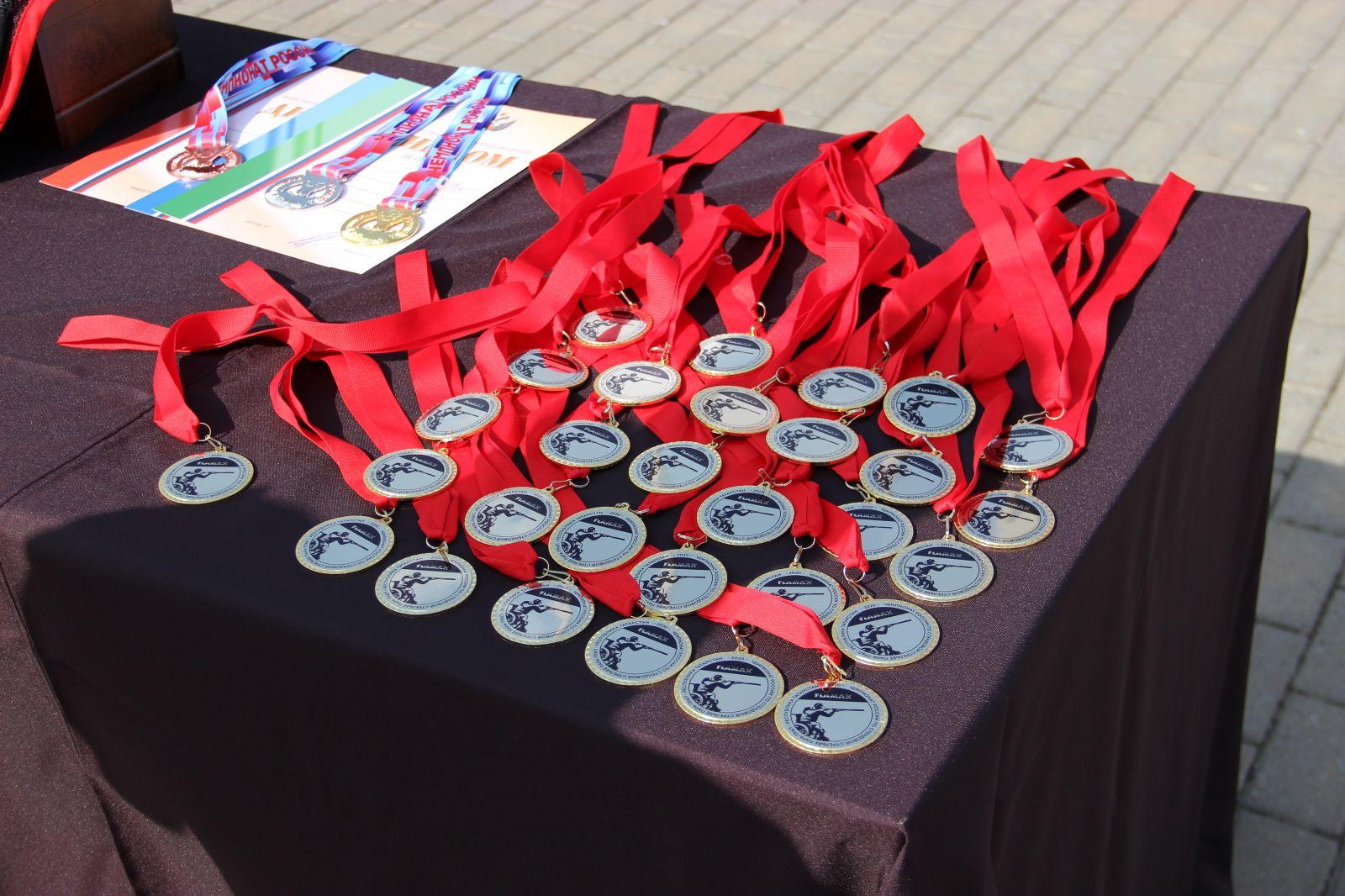Определены победители первого чемпионата России по стендовой стрельбе в дисциплине пара-трап
