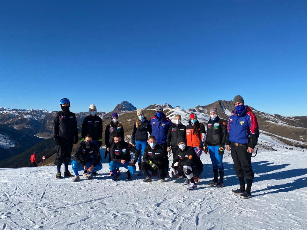 2 золотые, 1 серебряную и 2 бронзовые медали завоевала сборная команда России по горнолыжному спорту на Кубке Европы МПК