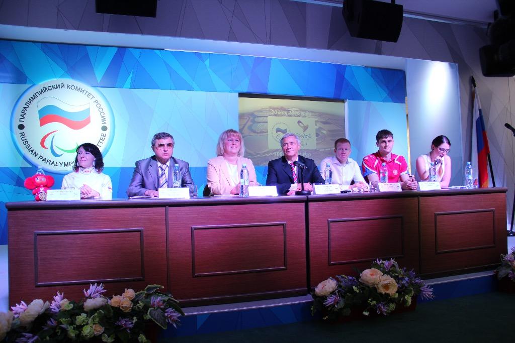 Паралимпийский комитет России провел пресс-конференцию и мастер-классы по паралимпийским летним видам спорта, приуроченные к 100 дням до начала Паралимпийских игр в Рио-де-Жанейро