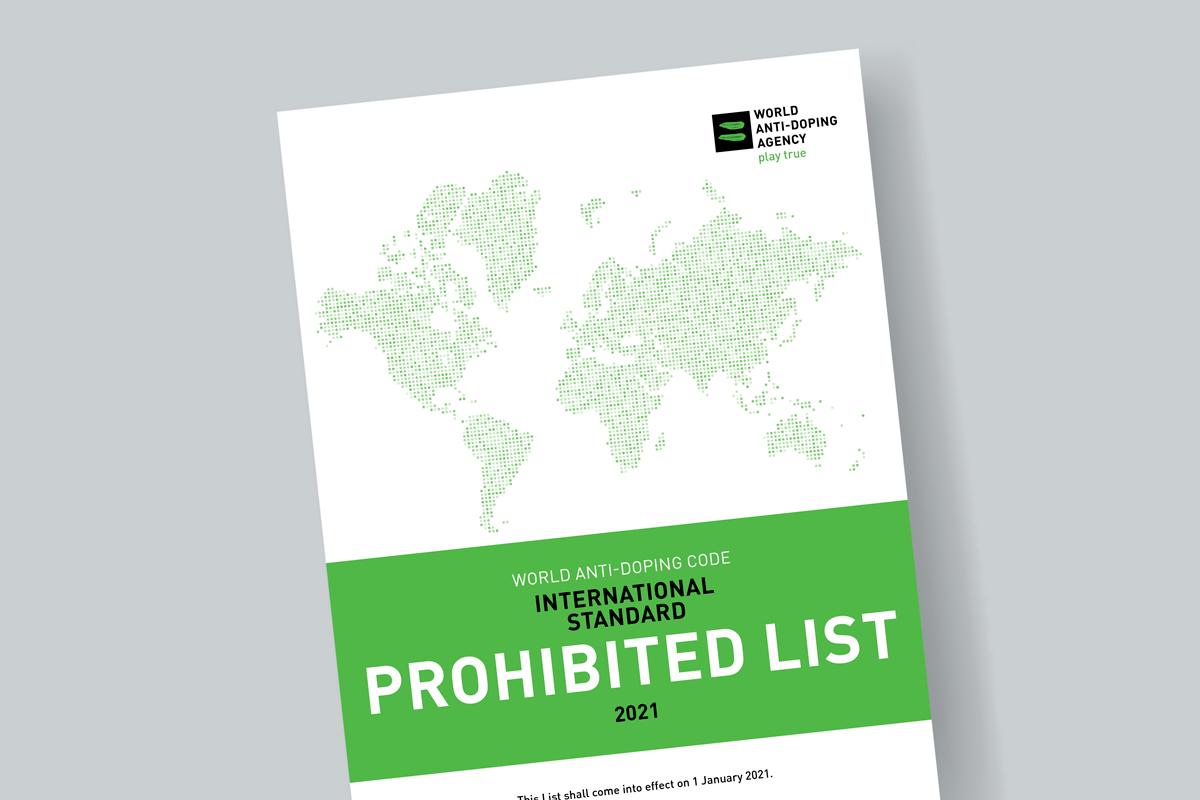 ВАДА опубликовало обновленный Запрещенный список 2021 года