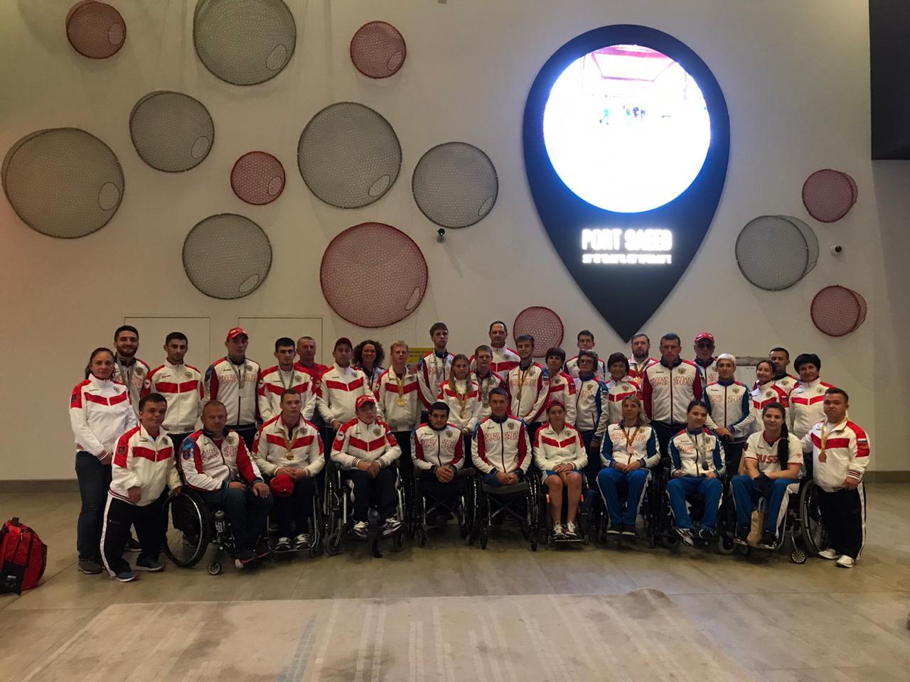 Сборная России завоевала 3 серебряные и 2 бронзовые медали в заключительный день чемпионата мира по легкой атлетике МПК в Дубае
