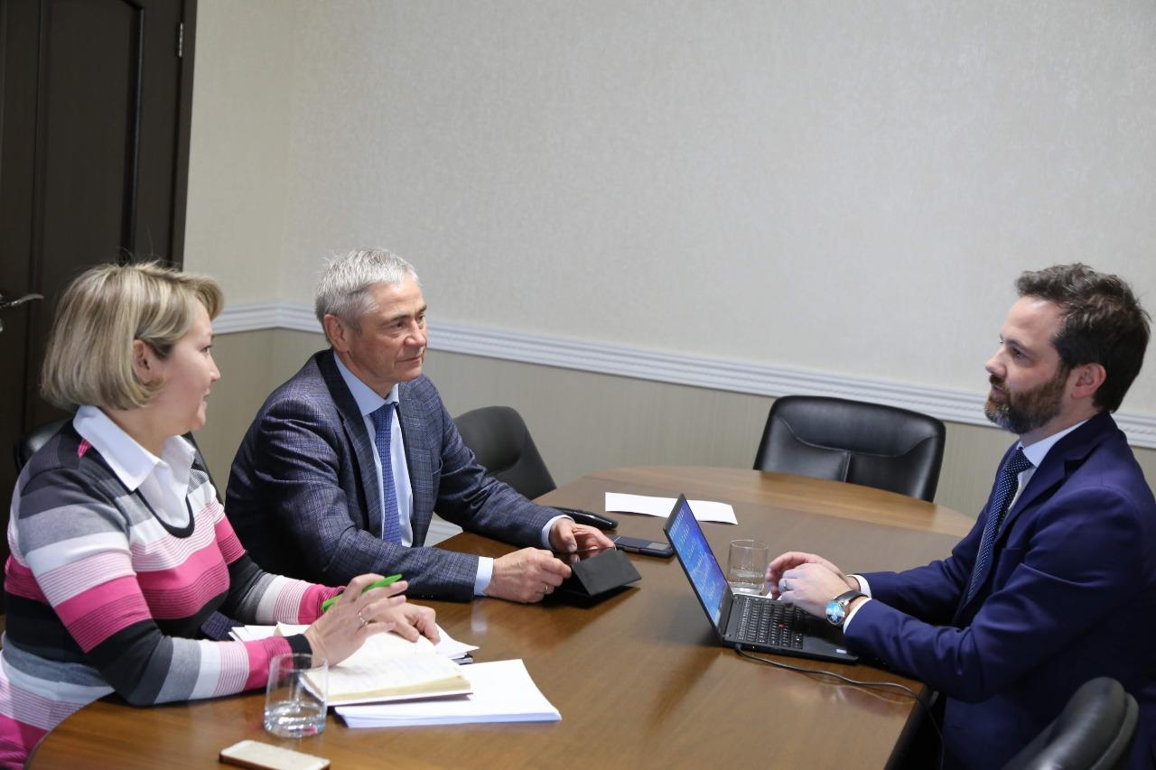 П.А. Рожков в офисе ПКР провел рабочие встречи с адвокатом юридической компании «Боннард Лоусон», представляющей интересы ПКР в качестве заинтересованной стороны в Международным Спортивном арбитражном суде (CAS)