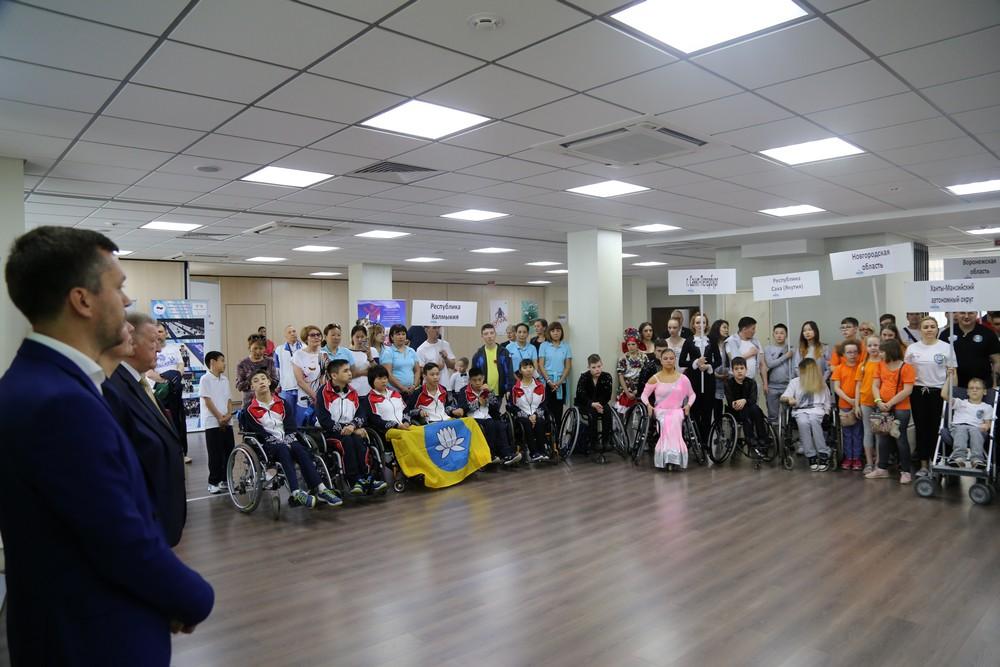 В универсально-спортивном зале ПКР состоялись торжественная церемония открытия и первый день соревнований традиционного фестиваля паралимпийского спорта «Парафест»