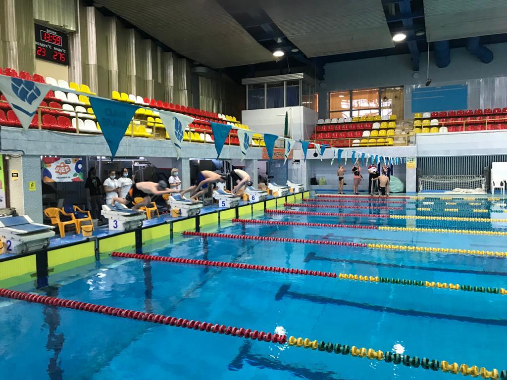 6 рекордов России было установлено на Кубке и первенстве России по плаванию спорта слепых в Раменском