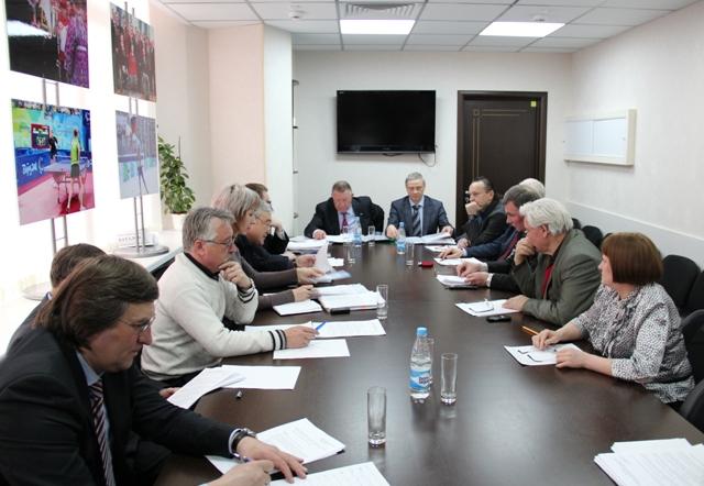 Состоялось  заседание Совета Федерации спорта лиц  с поражением опорно-двигательного аппарата