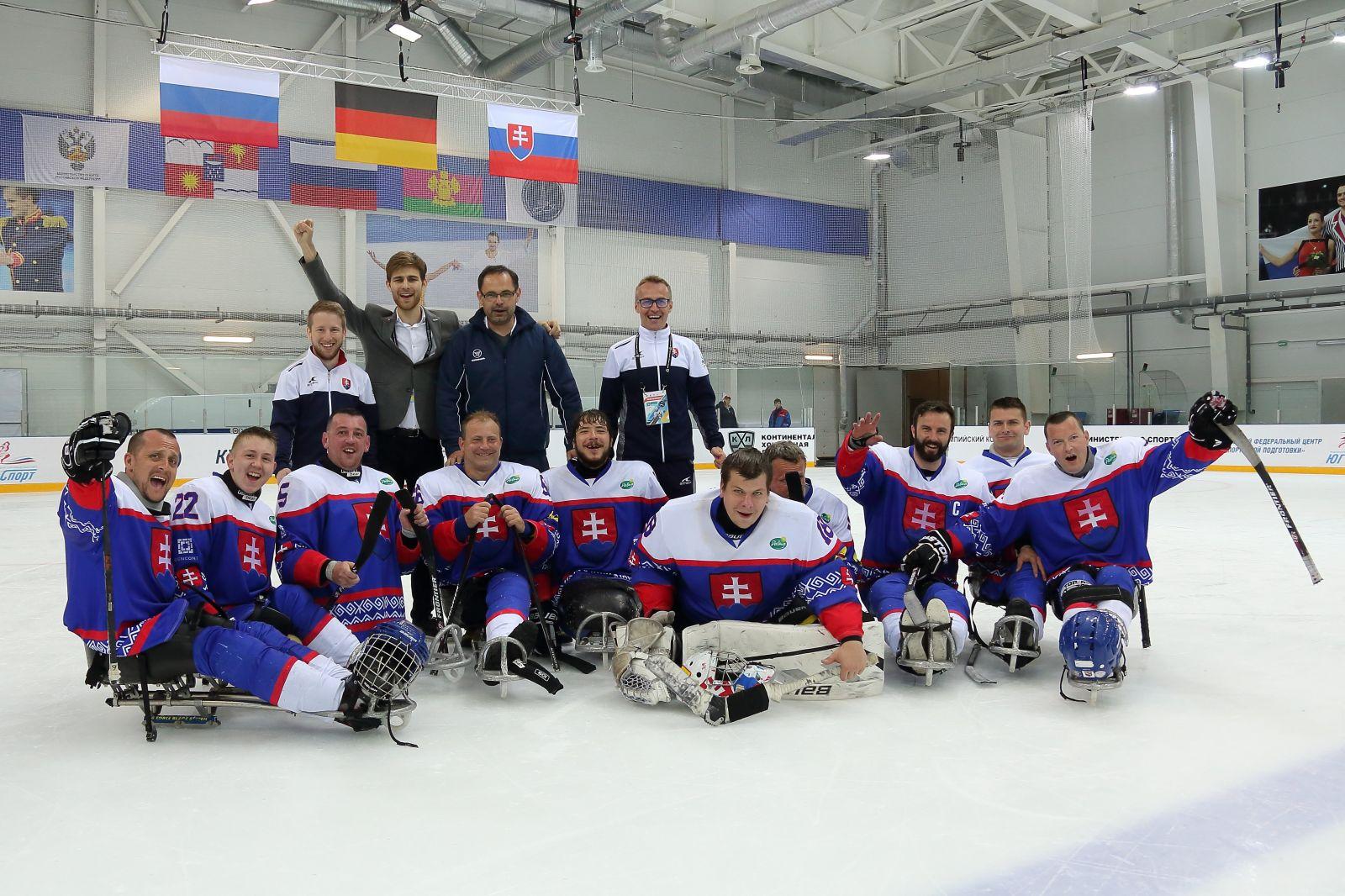 Сборная команда Словакии по хоккею-следж высоко оценила организацию Кубка Континента 2019 в Сочи