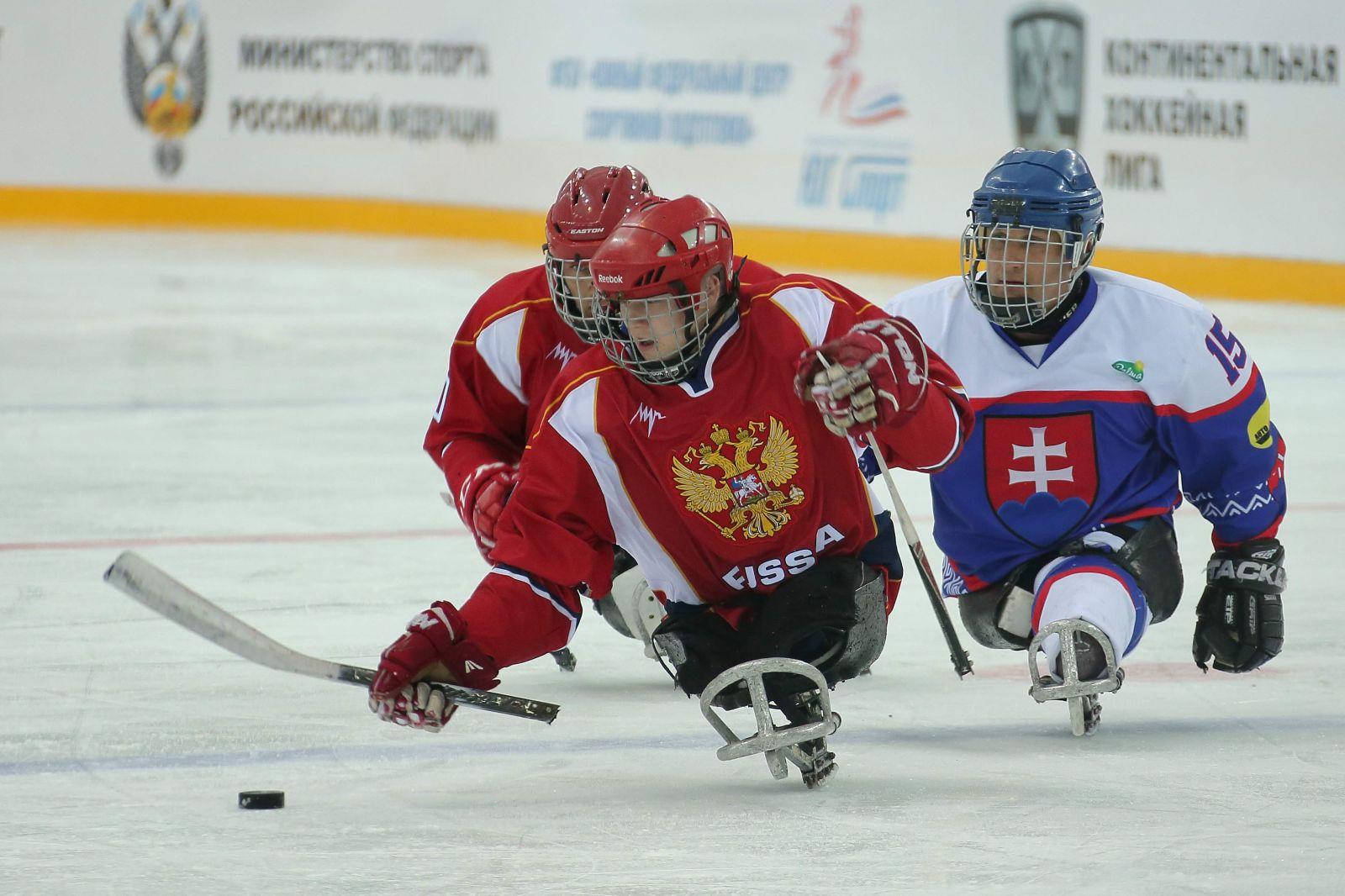 Сборная команда России по хоккею-следж будет отстаивать титул чемпиона Европы в 2020 году в Швеции