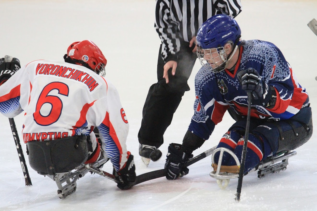 ПКР организует прямые трансляции первого круга чемпионата России по следж-хоккею