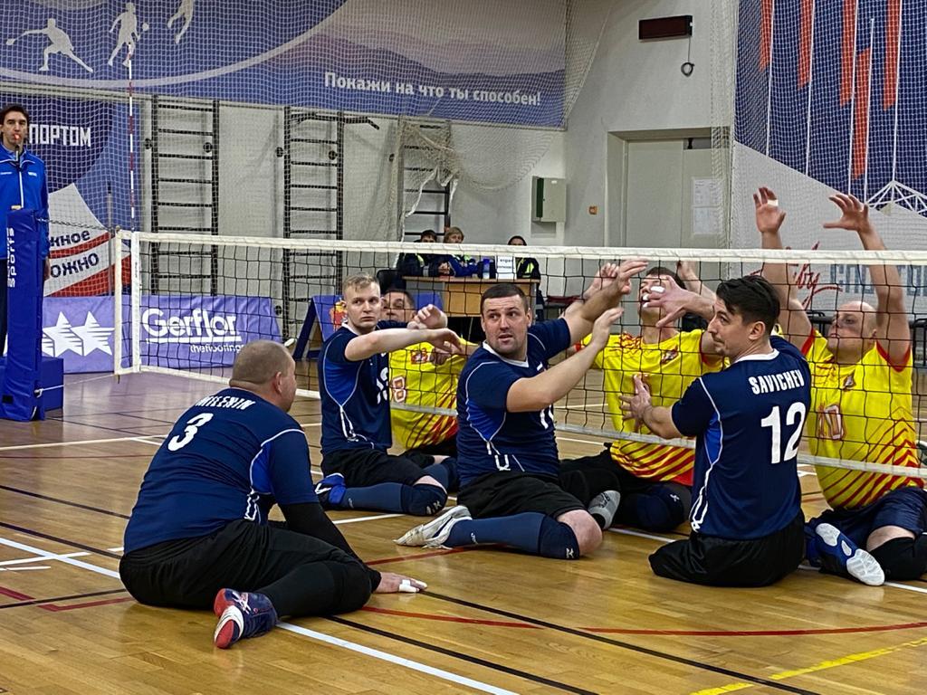 Мужская сборная Свердловской области и женская сборная Москвы подтвердили титулы чемпионов России по волейболу сидя