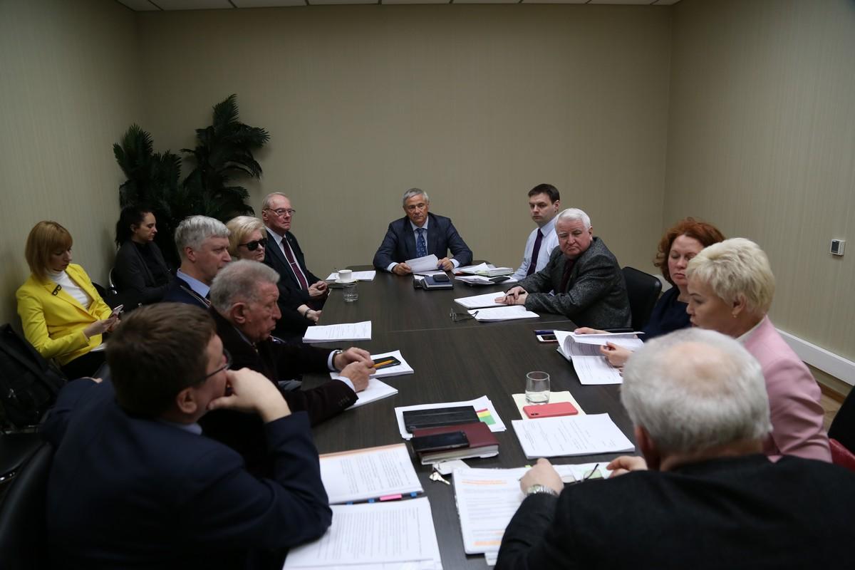 П.А. Рожков в офисе ПКР провел заседание Совета по координации программ, планов и мероприятий ПКР