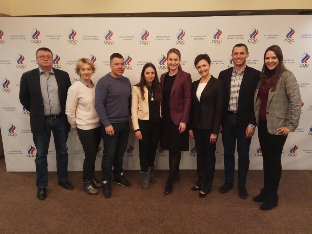 А.А. Строкин в Олимпийском комитете России принял участие в заседании Комиссии спортсменов ОКР