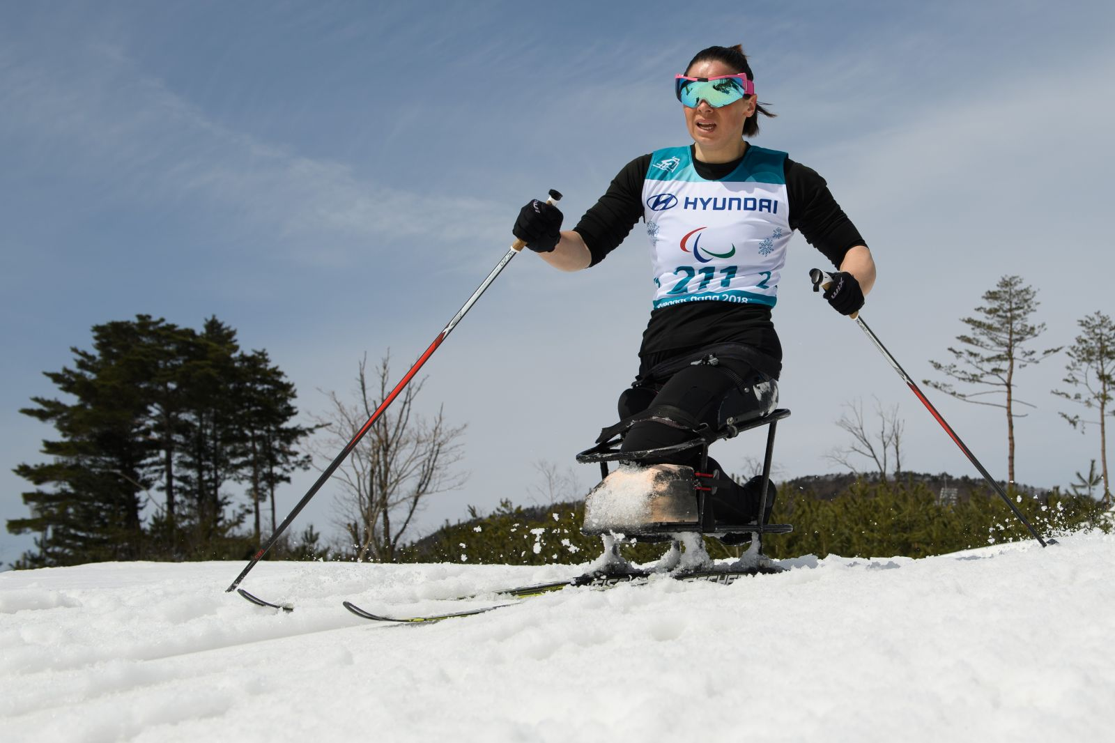 Паралимпиада-2018. 8 день.Марта Зайнуллина завоевала бронзовую медаль в лыжных гонках на дистанции 5 км