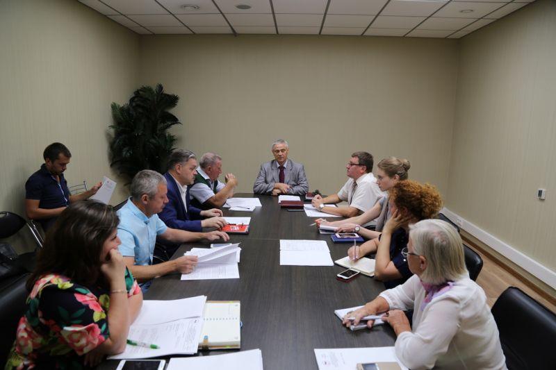 П.А. Рожков в офисе ПКР провел заседание Бюро рабочей группы ПКР по подготовке к участию в XII Паралимпийских зимних играх 2018 года г. Пхёнчхан (Республика Корея)