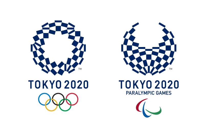 Оргкомитет Олимпийских и Паралимпийских летних игр 2020 года представил логотип Игр
