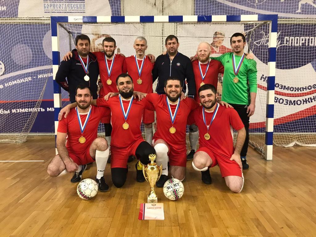 Сборная Республики Дагестан стала победителем чемпионата России по футзалу спорта слепых