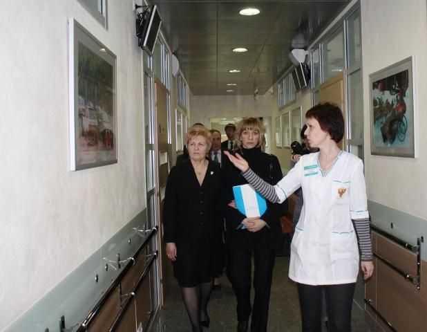 Л.П. Абрамова прибыла с рабочей поездкой в Красноярск