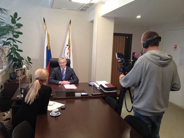 """П.А. Рожков  дал интервью новостному порталу """"Life News"""""""