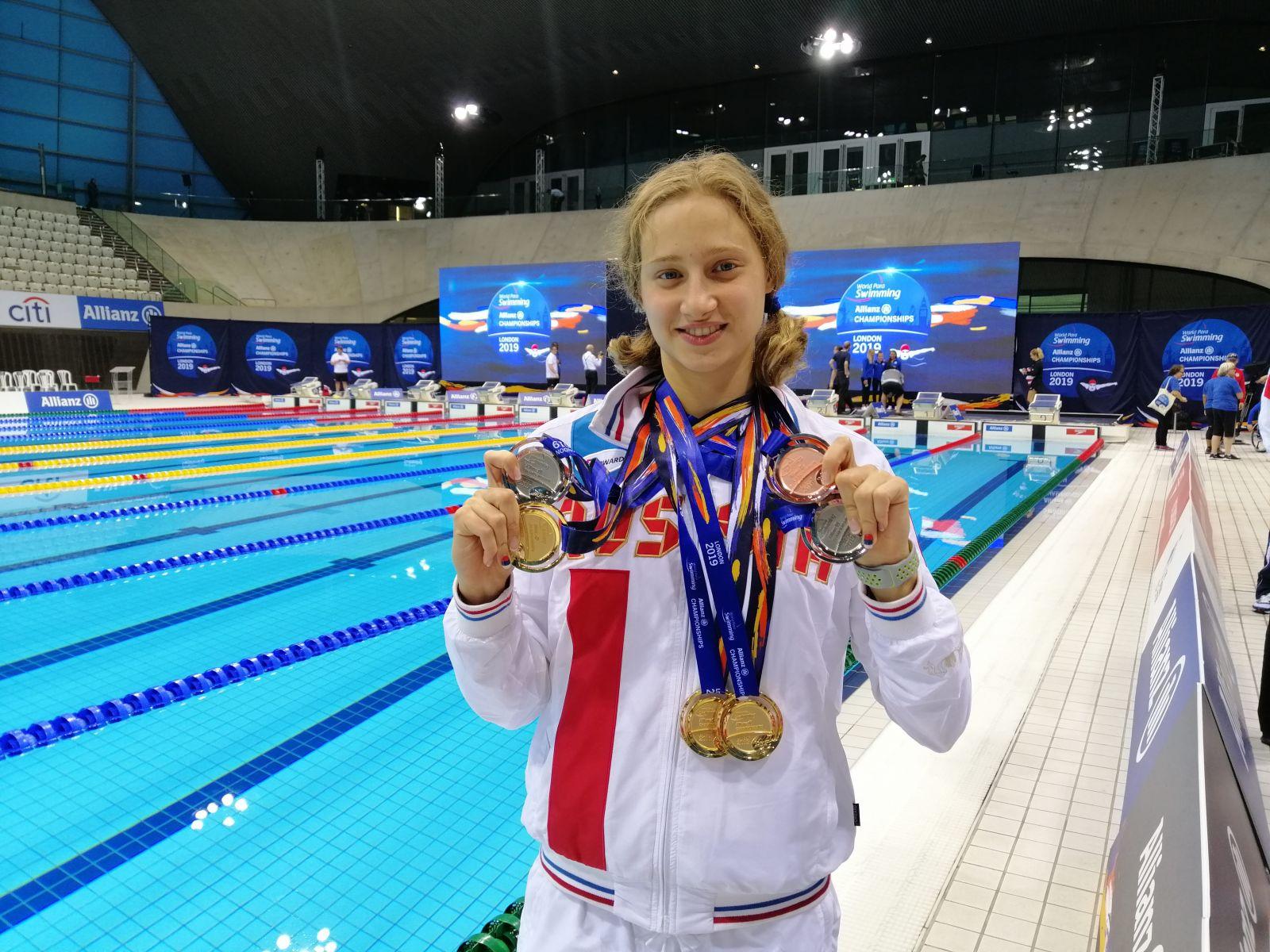 #тренимвместе с 3-кратным победителем, 2-кратным серебряным и бронзовым призером чемпионата мира 2019 года по плаванию спорта лиц с ИН Валерией Шабалиной