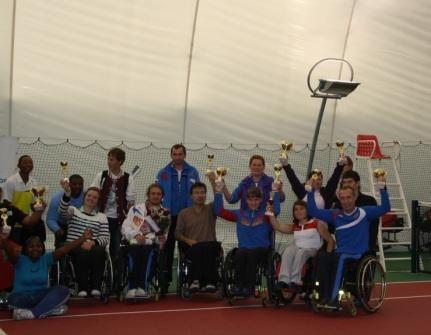 В  г. Москве завершился международный турнир по теннису на колясках