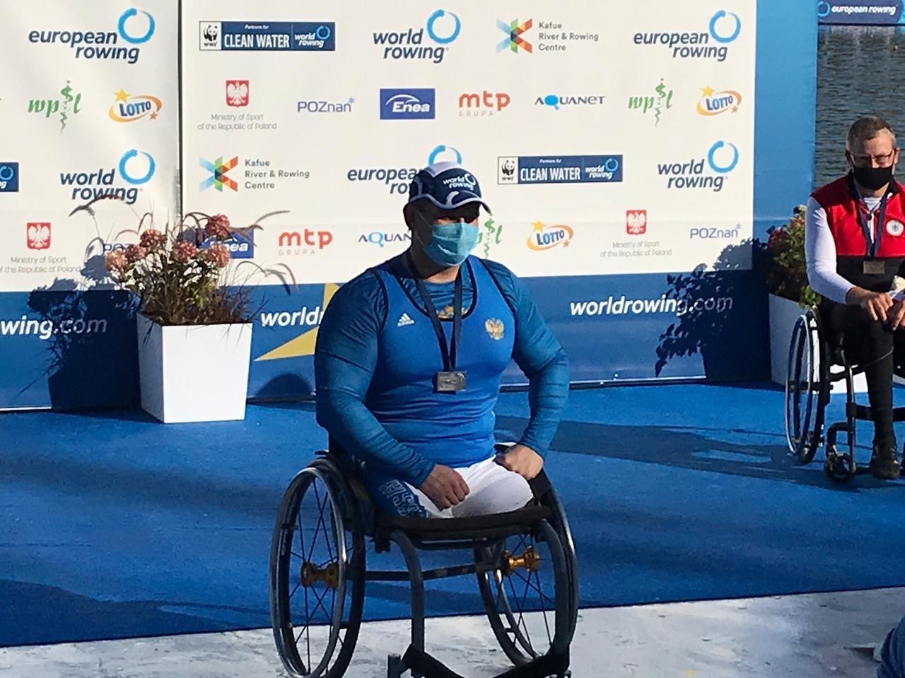 Подмосковный спортсмен Алексей Чувашев стал серебряным призером чемпионата Европы по академической гребле спорта лиц с ПОДА в Польше