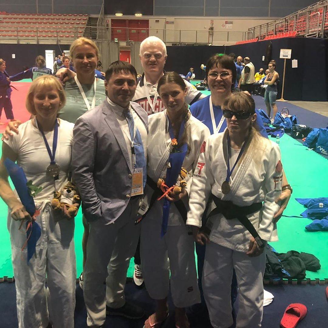 3 серебряные и 2 бронзовые медали завоевали российские дзюдоисты на чемпионате Европы в Италии
