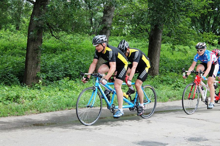 В г. Воронеже (Воронежская область) завершился чемпионат России по велоспорту - тандем (шоссе) среди лиц с нарушением зрения