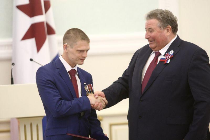 3-кратному чемпиону Паралимпийских игр Евгению Швецову присвоено почетное звание «Заслуженный работник физической культуры Республики Мордовия»
