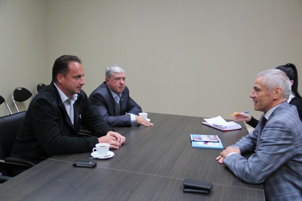 П.А. Рожков в офисе ПКР провел встречу с директором Ассоциации гольфа России А.В. Кочетковым