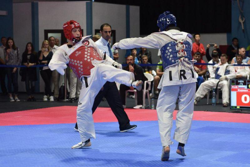 Российские спортсмены борются за награды чемпионата Европы в Польше в составе сборной России по паратхэквондо