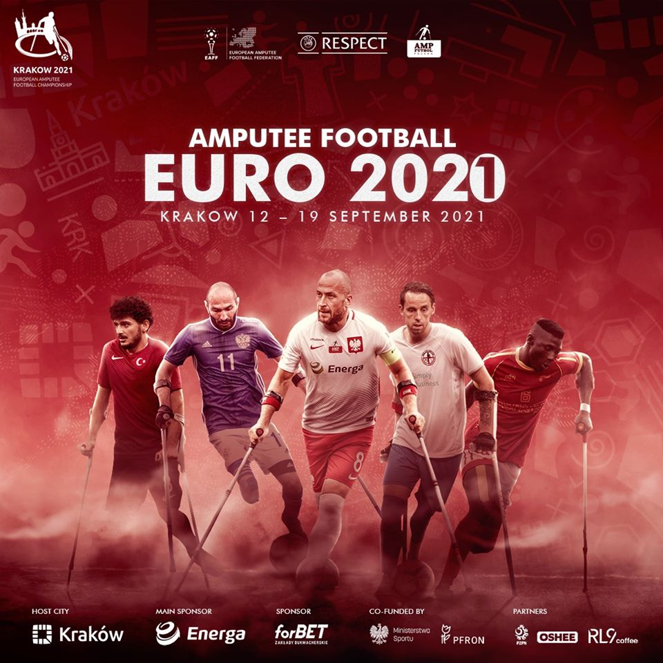 Чемпионат Европы по футболу ампутантов перенесен на 2021 год