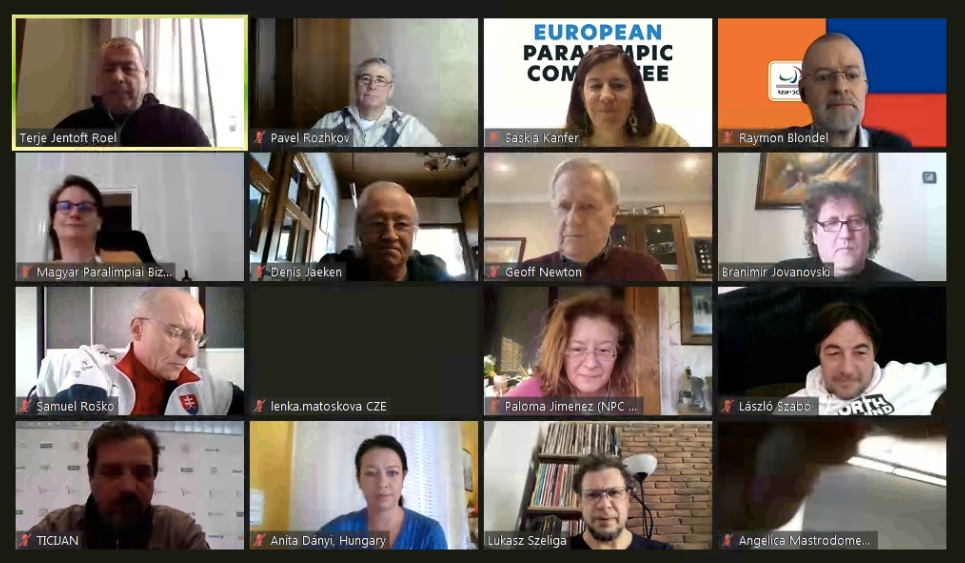П.А. Рожков в режиме видео-конференц-связи принял участие в заседании, проводимом Европейским паралимпийским комитетом со странами Центрально-Восточного региона