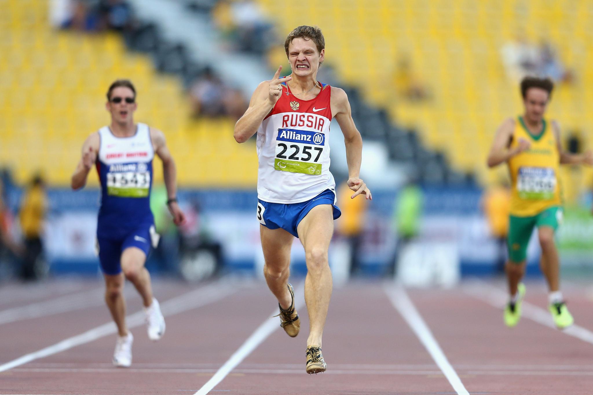 Сборная команда России по легкой атлетике завоевала 3 золотые, 4 серебряные и 3 бронзовые медали в заключительный день чемпионата мира IPC в Катаре