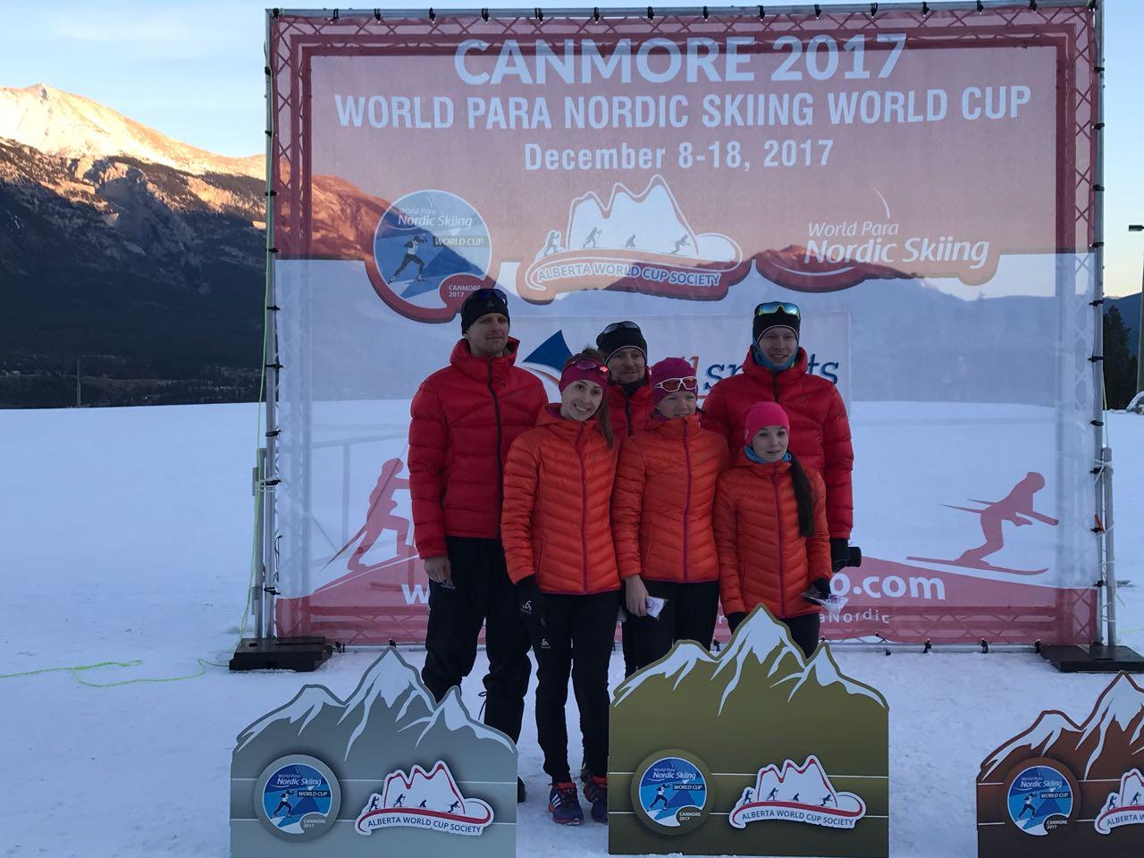 4 золотые медали принес российским спортсменам первый соревновательный день биатлонных гонок Кубка мира по лыжным гонкам и биатлону среди лиц с ПОДА и нарушением зрения в Канаде