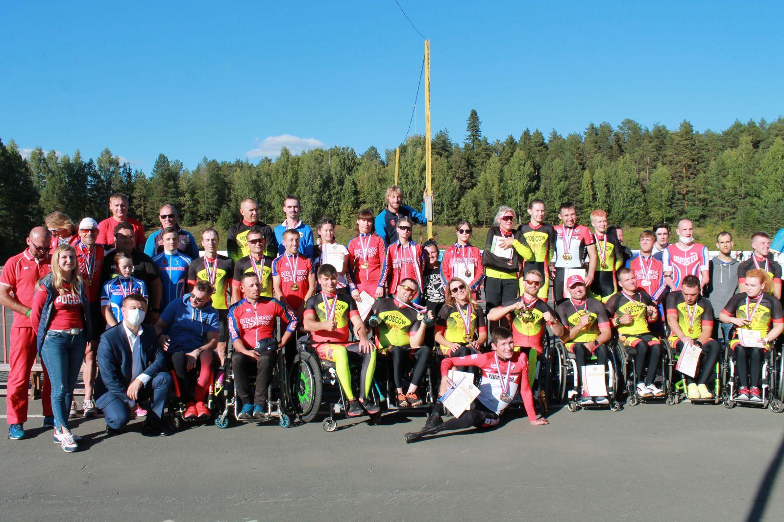 6 спортсменов стали абсолютными победителями личных соревнований чемпионата России по велоспорту на шоссе лиц с ПОДА