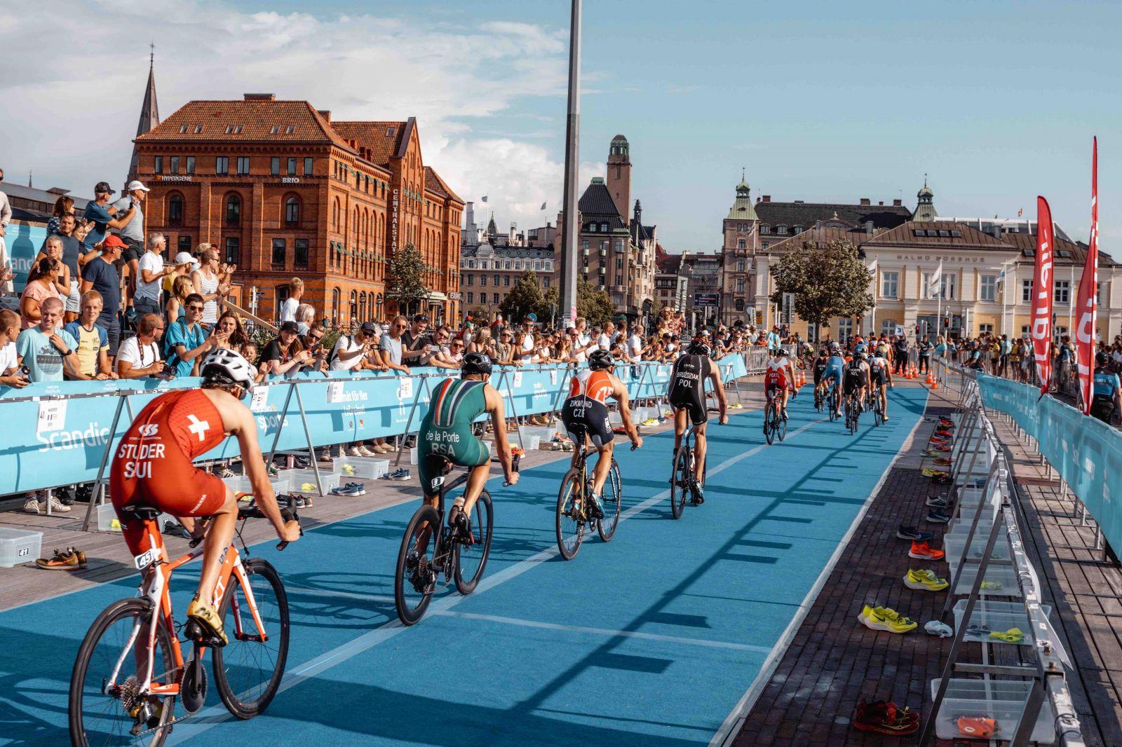 Чемпионат Европы по триатлону и паратриатону в Мальме отменен