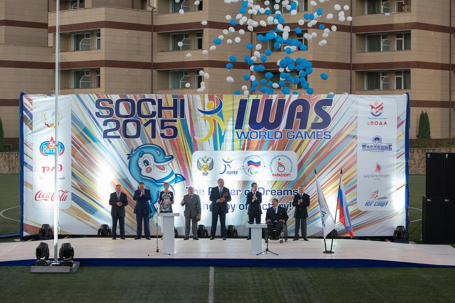Всемирные игры Международной спортивной федерации колясочников и ампутантов IWAS 2015 года торжественно открыты в Сочи!