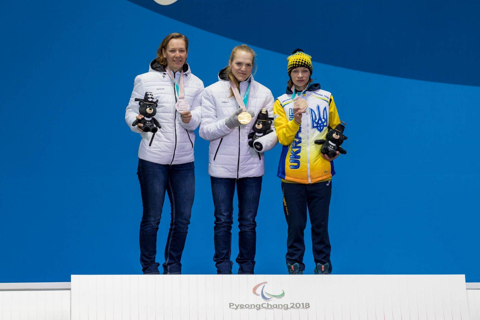 Паралимпиада-2018. Итоги 4 дня соревнований. Российские спортсмены завоевали 2 золотые, 3 серебряные и 2 бронзовые медали