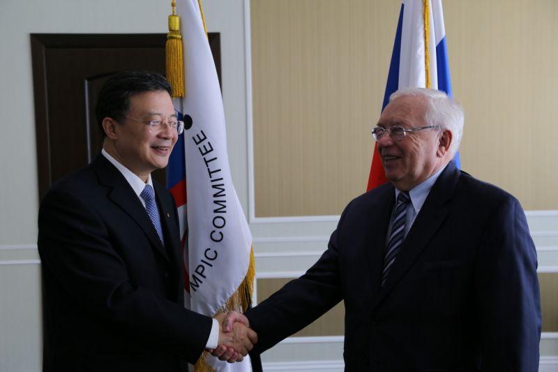 В офисе Паралимпийского комитета России по инициативе Китайской стороны состоялась рабочая встреча руководителей Паралимпийских комитетов России и Китая