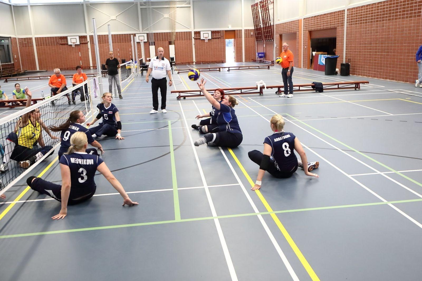 Спортсмены мужской и женской сборных России нацелены на победу на чемпионате Европы по волейболу сидя в Хорватии