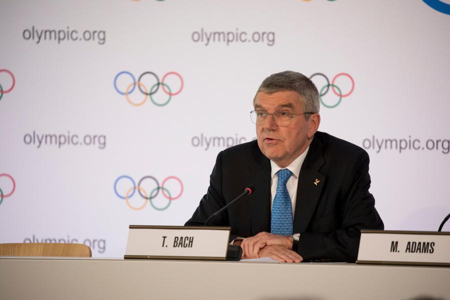 Президент Международного Олимпийского Комитета Томас Бах сообщил о подготовке к Пекину 2022