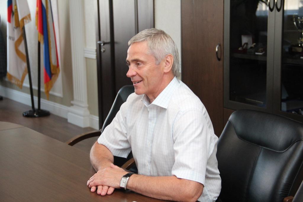 П.А. Рожков в офисе ПКР провел рабочие встречи со старшими тренерами сборных команд России по вопросам развития видов спорта