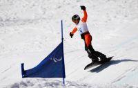 Серафим Пикалов завоевал серебряную медаль на чемпионате мира по пара-сноуборду в Испании