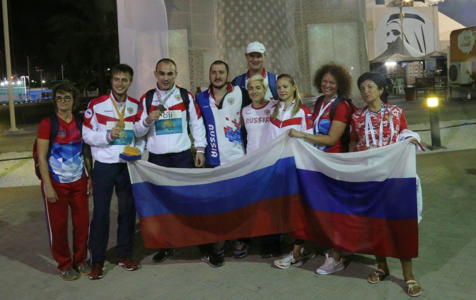 Маргарита Гончарова и Андрей Вдовин завоевали золотые медали в 5 день чемпионата мира по легкой атлетике МПК в Дубае
