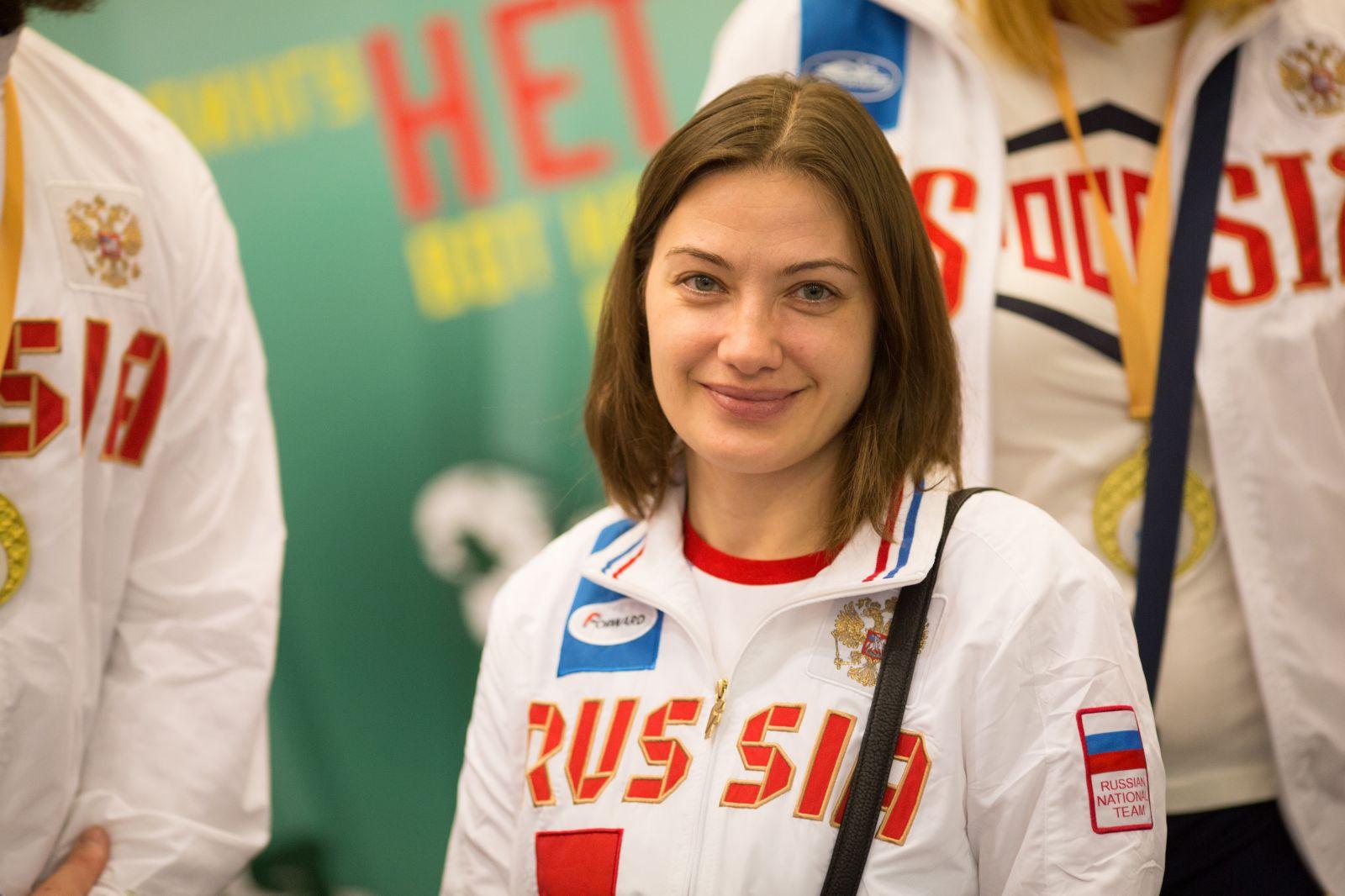 #тренимвместе с чемпионкой мира и Европы по волейболу сидя Любовью Пермяковой