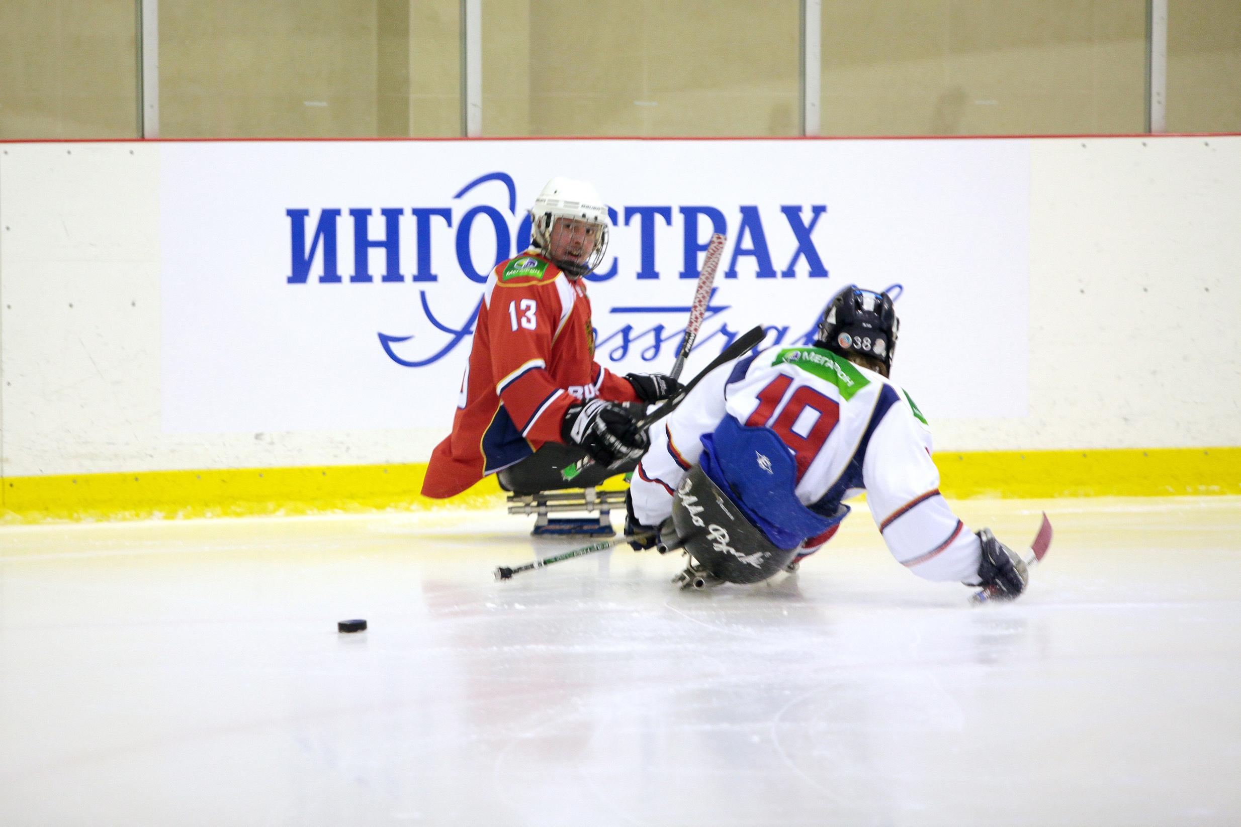 Всероссийская федерация спорта лиц с ПОДА в г. Алексине (Тульская область) проведет 1 этап чемпионата России по хоккею-следж